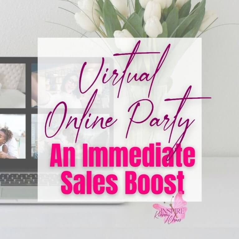 Virtual Online Party: An Immediate Sales Boost