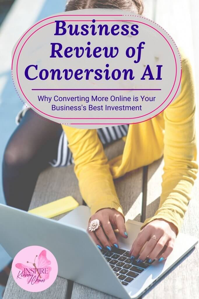 Conversion AI is software that helps small business owners increase their conversion rates online. It's designed to take the guesswork out of the marketing process and help you make your website more customer-focused with ease. Conversion AI has helped businesses in many industries, including retail, restaurants, and nonprofits, increase revenue!