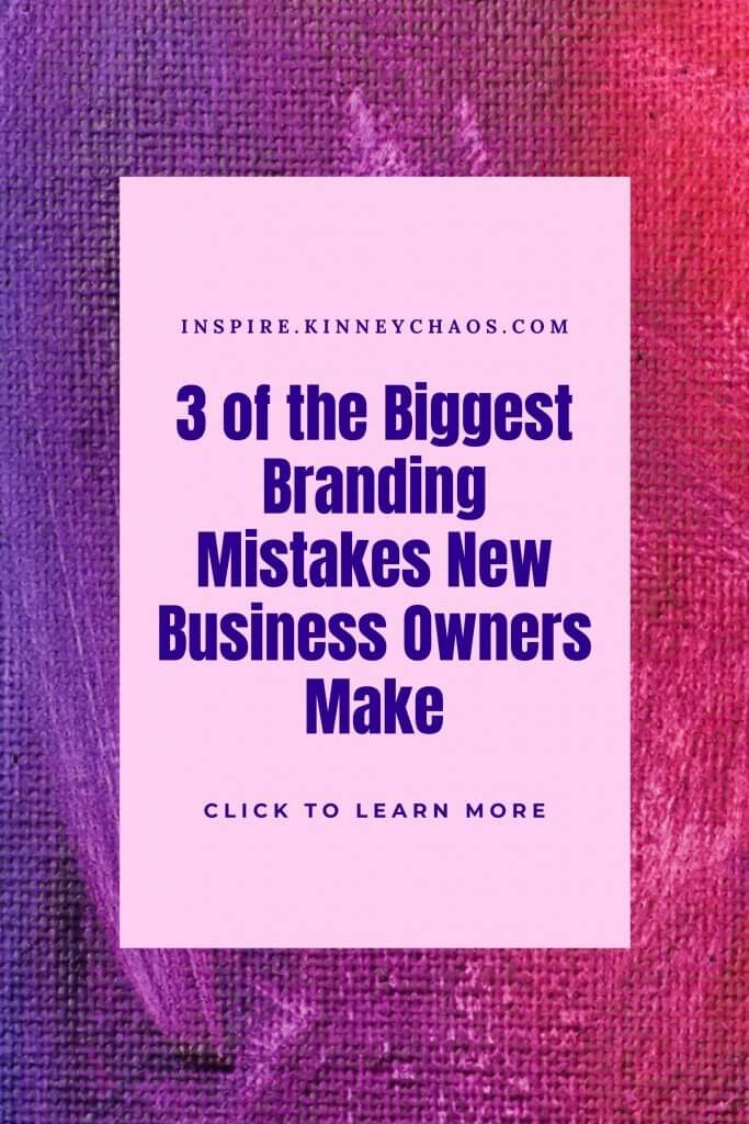 Outlining the top 3 branding mistakes made by new business owners. We'll also give you tips to avoid making these mistakes so that your company has a greater chance of success.