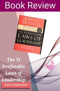 The 21 Irrefutable Laws of Leadership is a must-read for any leader. This book will teach leaders to embrace their purpose, build a strong inner team, and work together to maximize effectiveness in leadership situations.