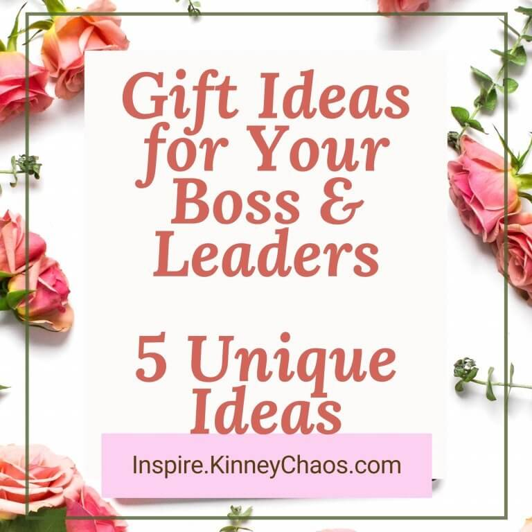 Gift Ideas for Your Boss and Leaders – 5 Unique Ideas